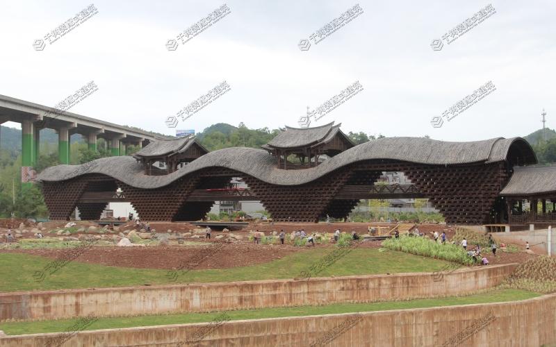 黔江风雨廊桥