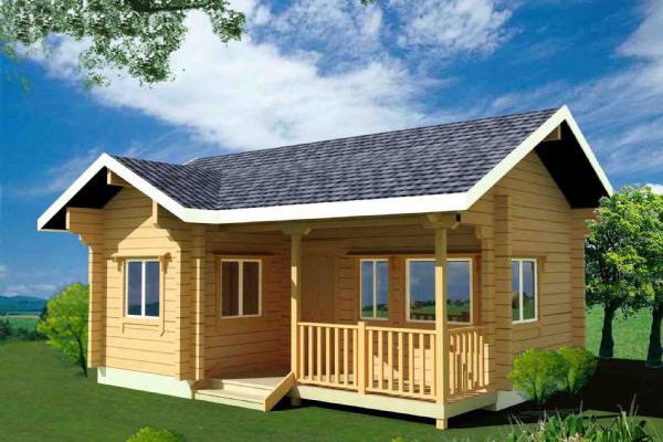 木屋设计厂家介绍如何正确防止防腐木屋被侵蚀?