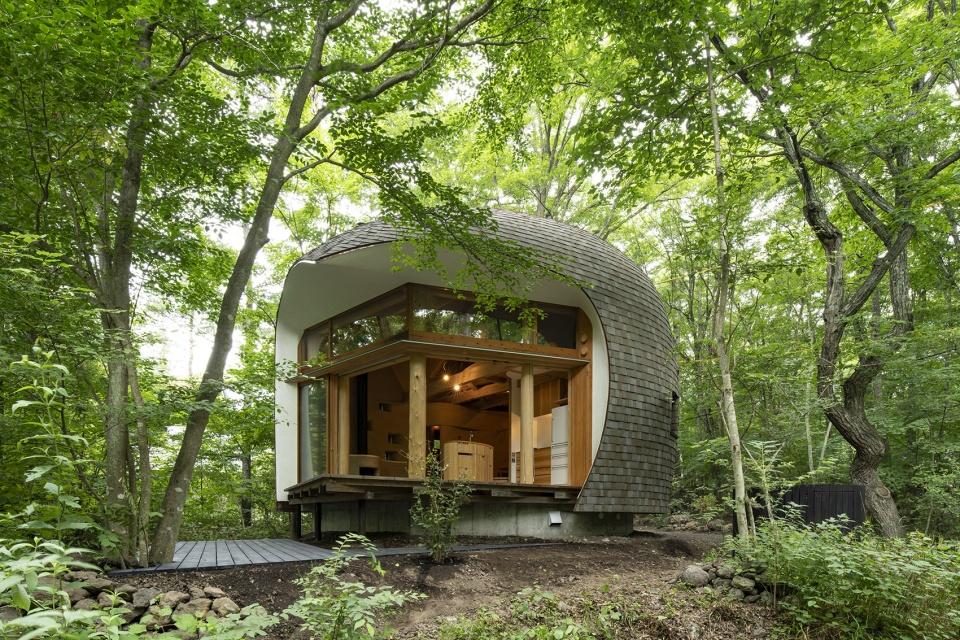 大自然的艺术品—木屋别墅